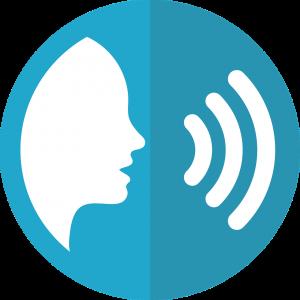Speech to Audio Icon