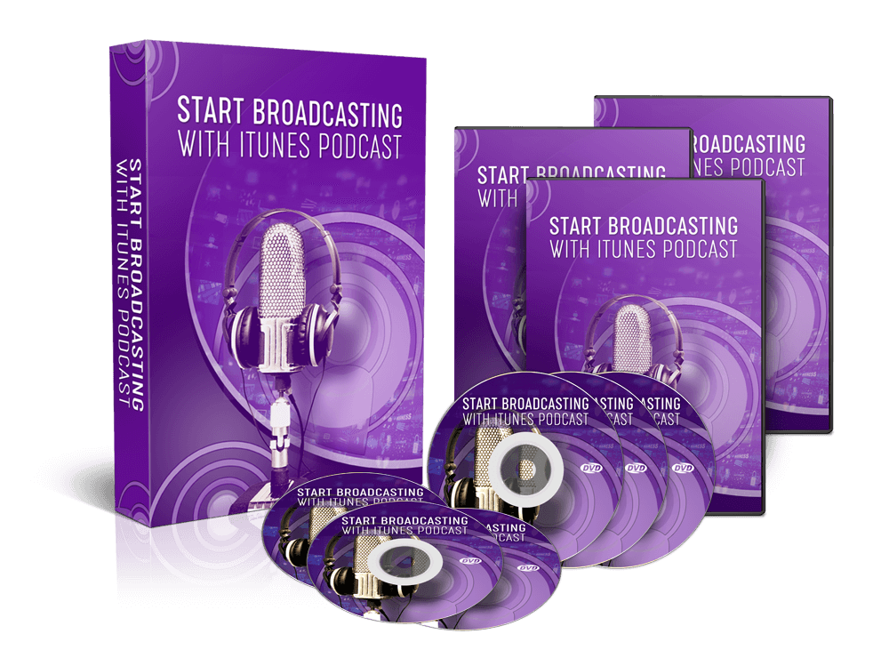 Broadcasting With Itunes Podcast - Video Training Course