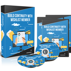 Build Continuity With Wishlist Member - Video Training Course