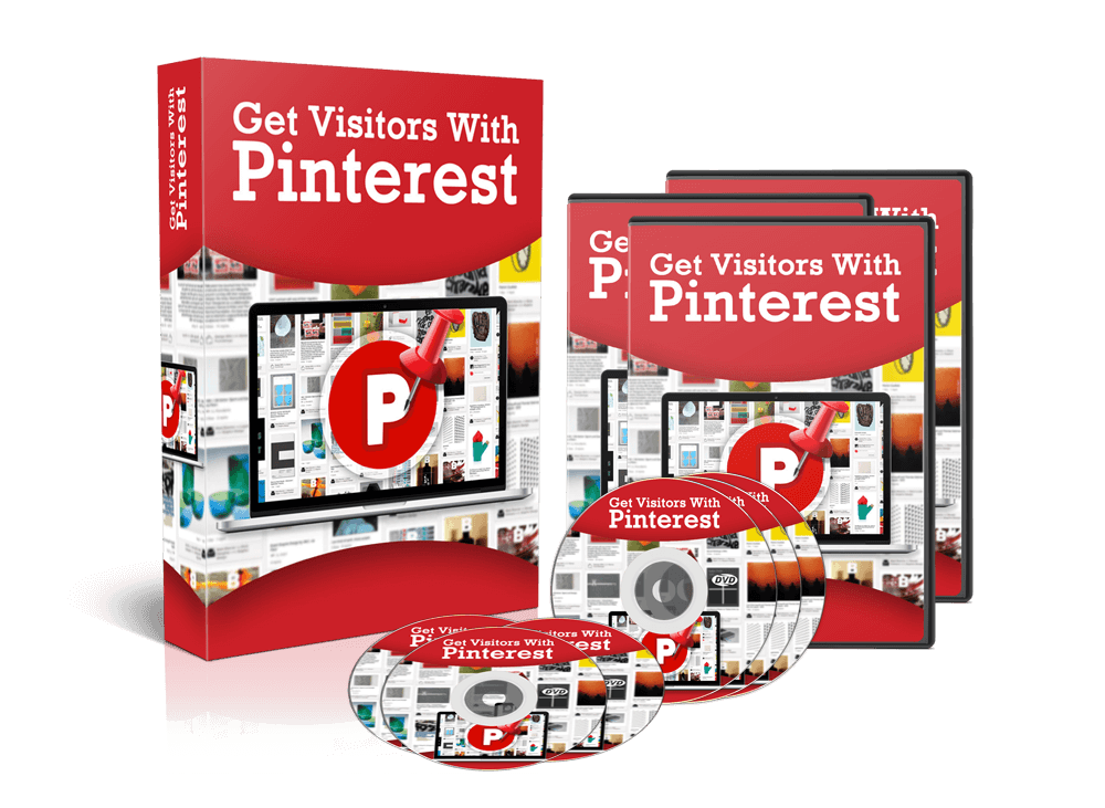 Get Visitors With Pinterest Video Training Course