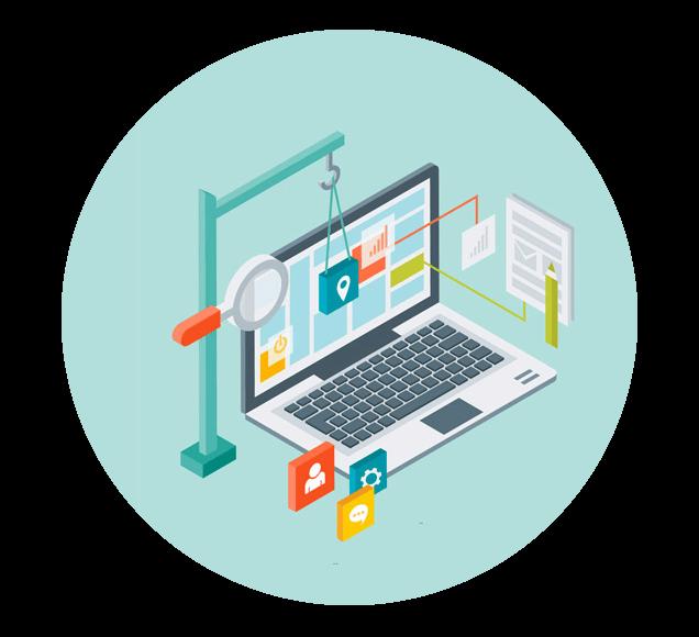 Build Your Website Illustration