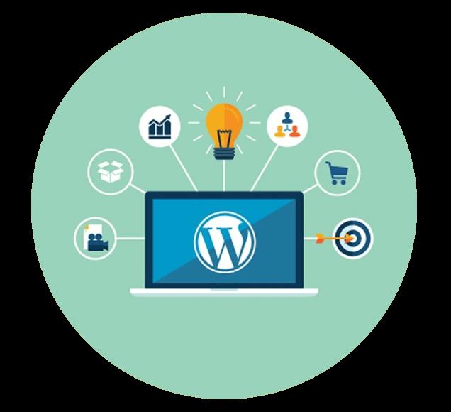 Wordpress The Multipurpose Website Content Management System - Illustration