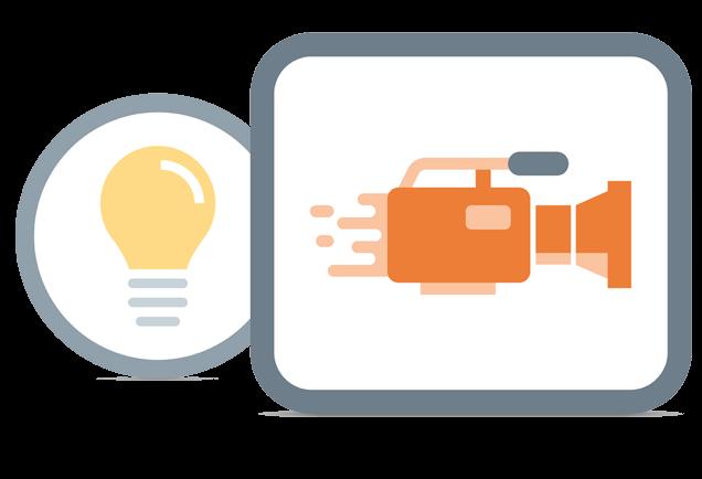 Online Video Application Illustration