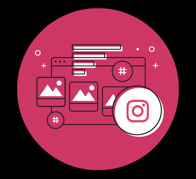Social Media Instagram Images Illustration