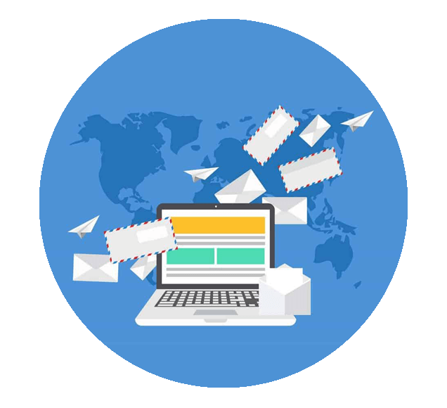 Creating an Email Funnel to Connect Customers Worldwide - Illustration