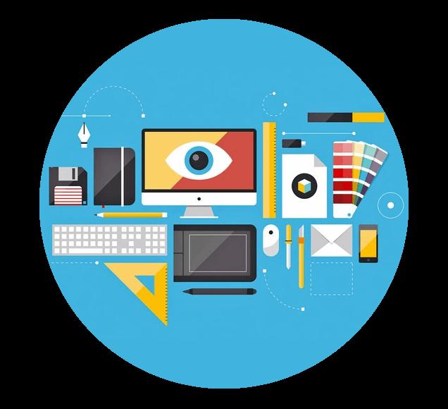 Office Equipment Illustration