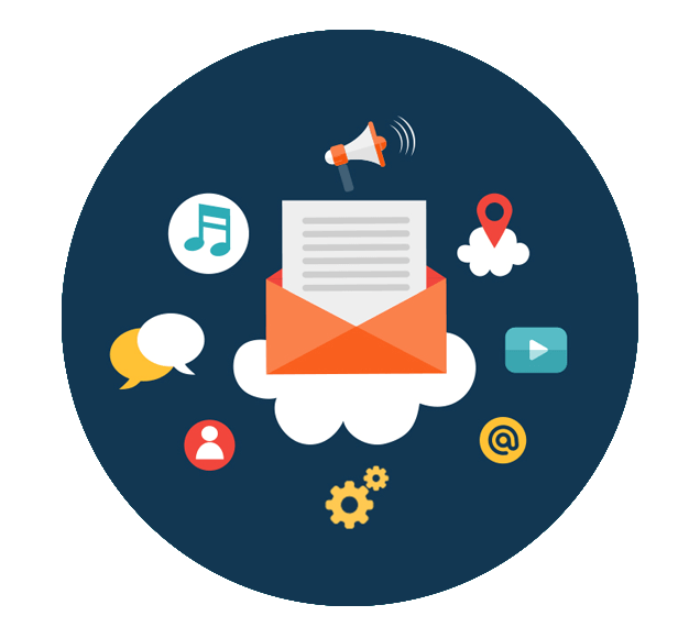 Enhanced Email Delivery via the Cloud - Illustration