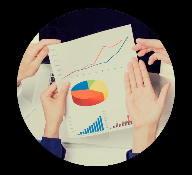 Group Analysing Sales Data Illustration