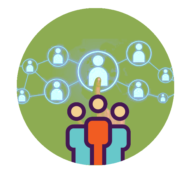 Interconnected Business World Illustration