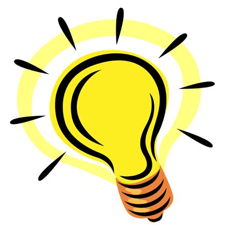Illuminated Lightbulb Illustration
