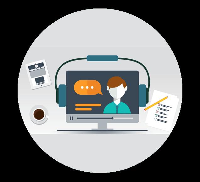 Webinar Sales Channel Illustration