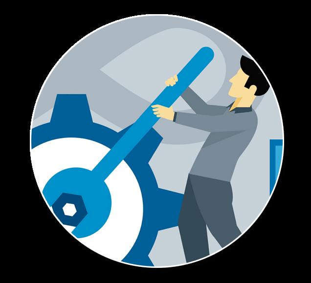 Worker Training Courses Illustration