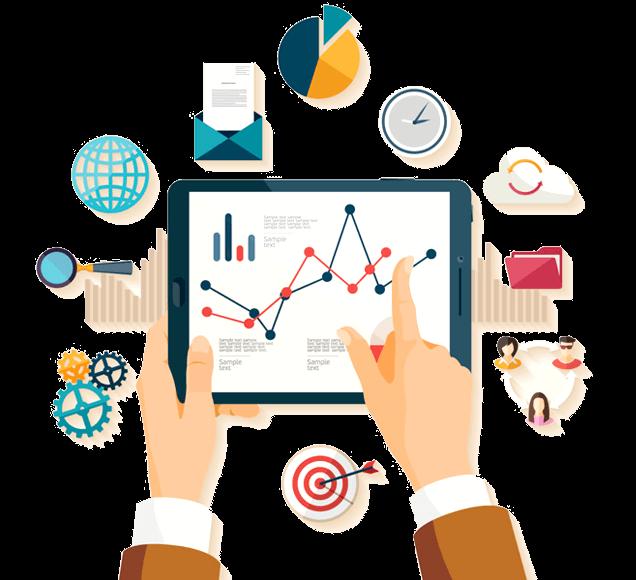 Office Organisation Management Tools - Illustration