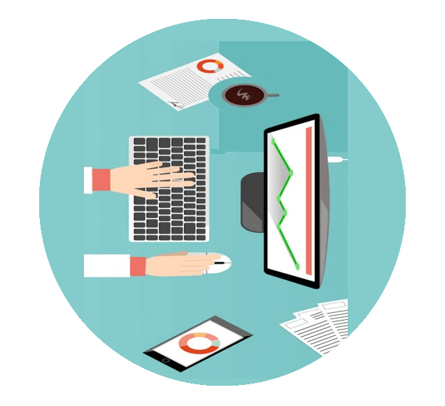 Writing Documents and Reports using Computer Illustration