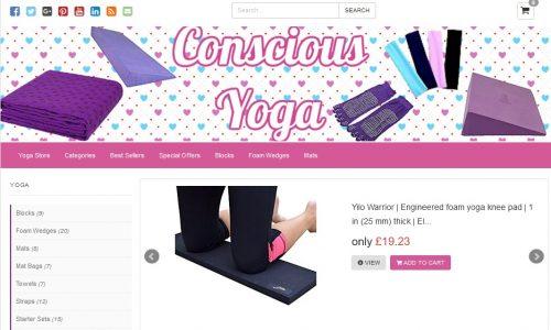 Conscious Yoga Amazon Affiliate Website
