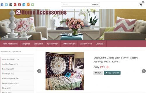 Home Accessories Amazon Affiliate Website