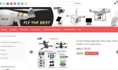 Quadcopter Club Amazon Affiliate Website